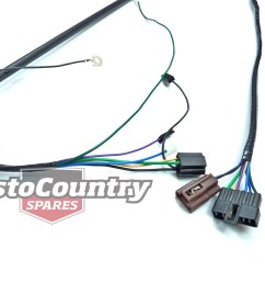 holden torana lh headlight wiring loom  [ 1600 x 1200 Pixel ]