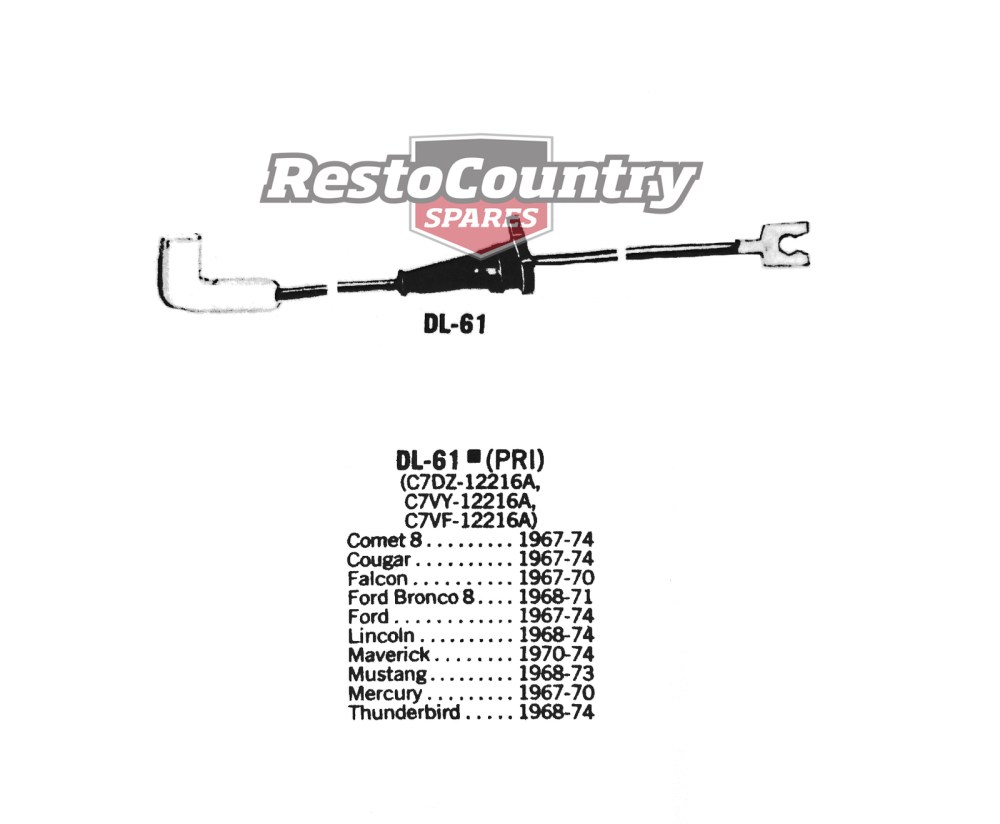 medium resolution of ford distributor primary ignition wire