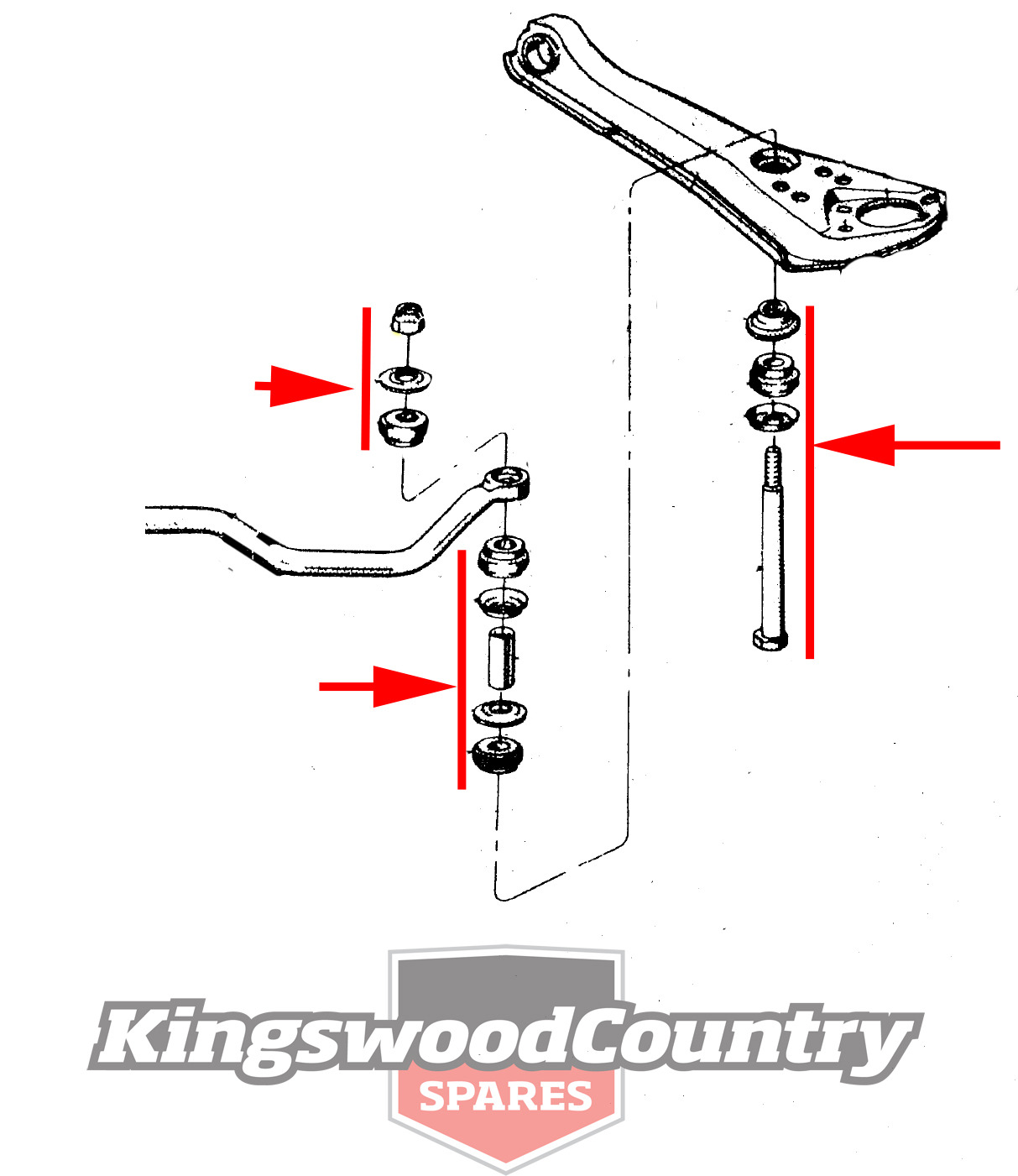 hight resolution of ford falcon sway bar