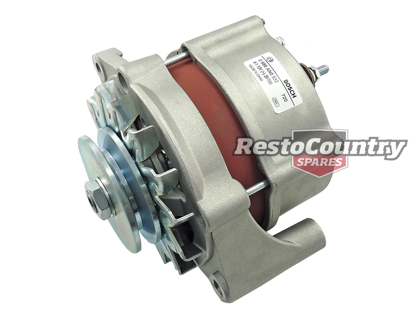 hight resolution of  generator diagram ford bosch alternator 70a v8 or 6 cortina tc td te windsor on