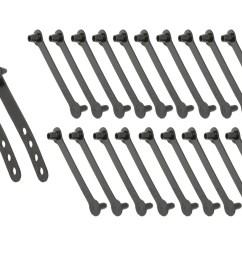ford wiring loom harness strap x20 set xr xt za zb [ 1500 x 1125 Pixel ]