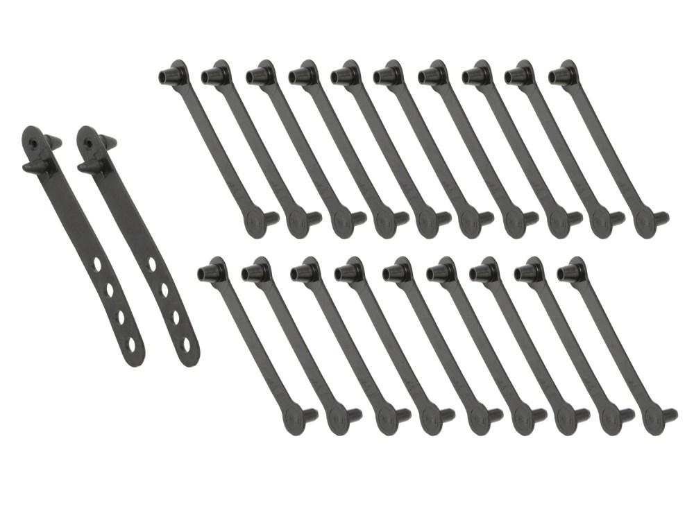 medium resolution of ford wiring loom harness strap x20 set xr xt za zb