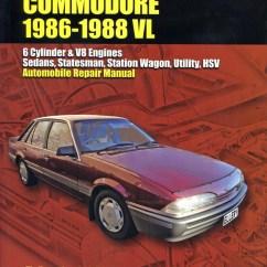 Commodore Vl Wiring Diagram Subwoofer Wire Holden 1986 88 Workshop Repair Manual Max Ellery