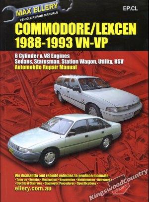 Holden Commodore  Lexcen VN VP Workshop Repair Manual