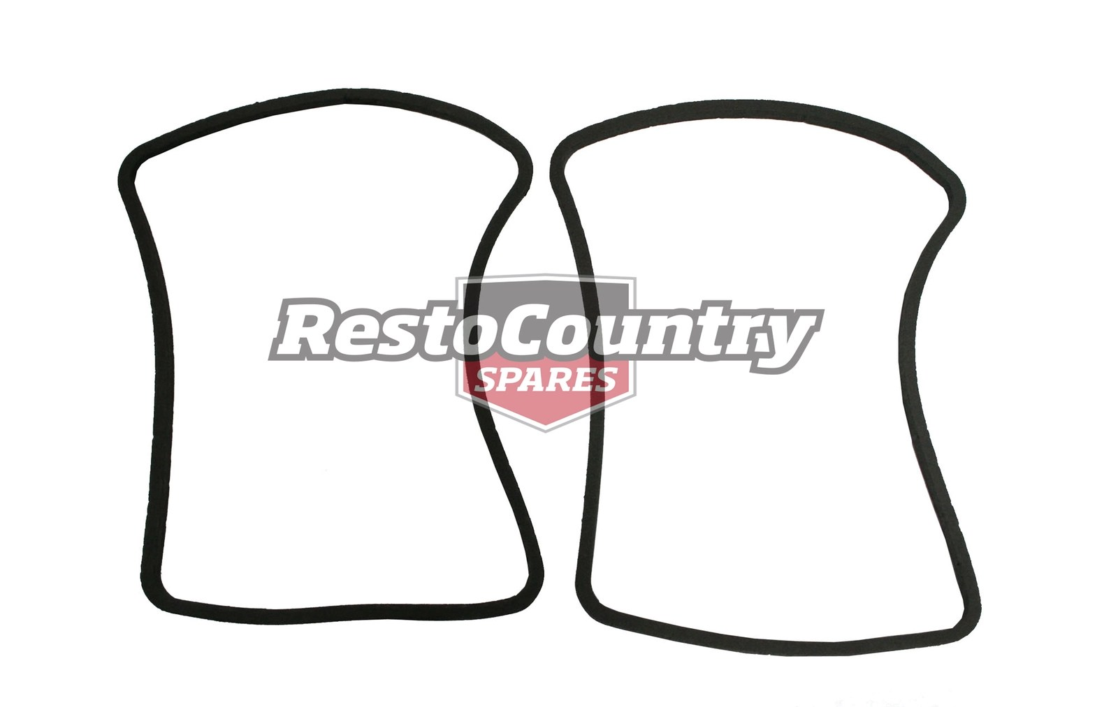 Ford Taillight Gasket Pair LEFT + RIGHT XW stop light Lamp