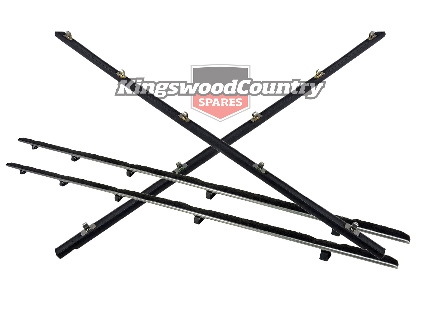 Ford Door Weather Belt FRONT- LEFT +RIGHT INNER +OUTER XR