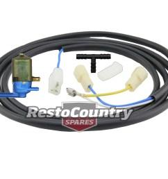 holden washer motor wiring loom pump kit hq hj hx hz wb lucas preslite wiper [ 1600 x 1298 Pixel ]