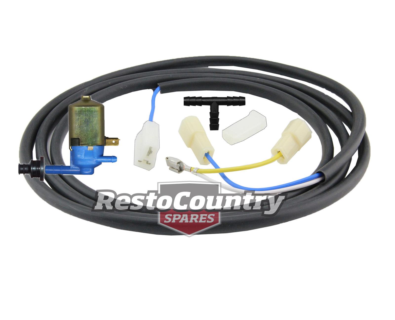 hight resolution of holden washer motor wiring loom pump kit hq hj hx hz wb lucas preslite wiper