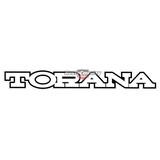 Holden Torana LX 'SS' Grille Emblem Badge red ss
