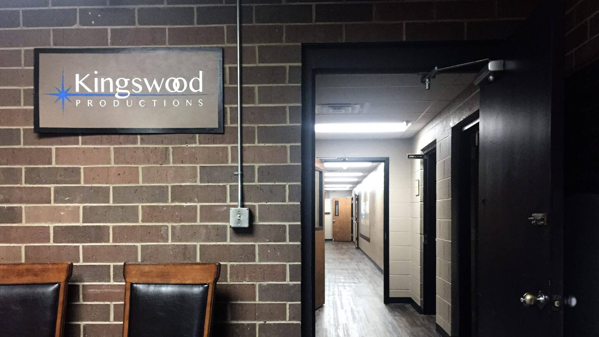 Pictured here is the entrance to Kingswood Productions in Nashville, Tenn.