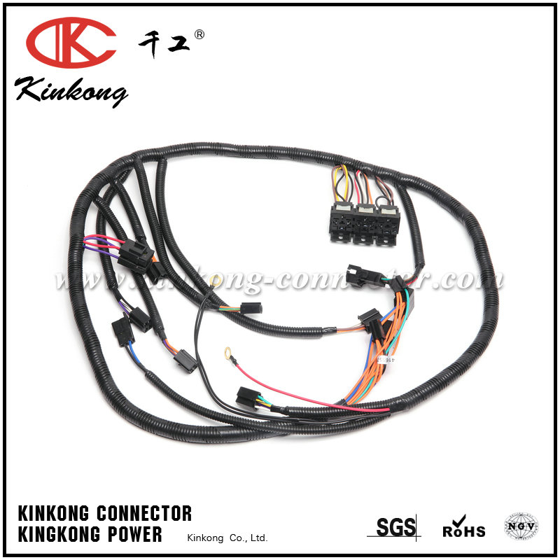 High Quality Customer made car Aftermarket Wire Harness
