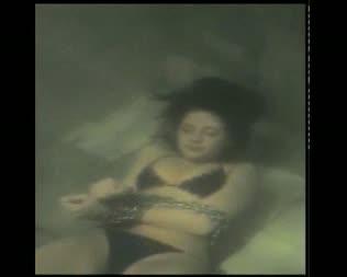 underwater drowning her