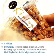 Love this picture taken by @cenwei87 and thank you for the kindest review of our Kinley Roasted Peanuts