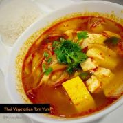 Thai Vegetarian tom-yum