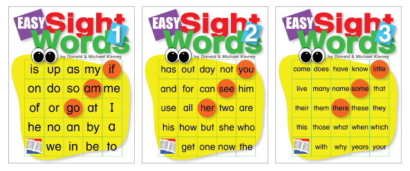 Easy Sight Words Covers