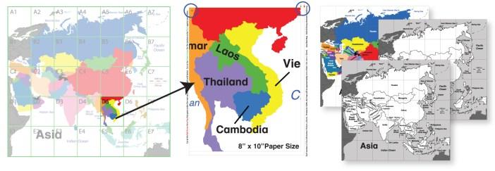 Doald's English Classroom Map Instructions