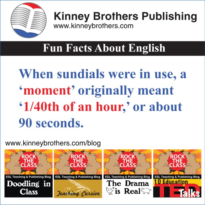 Kinney Brothers Publishing Fun Facts About English