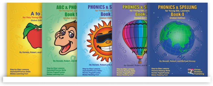 Phonics and Spelling Series Kinney Brothers Publishing