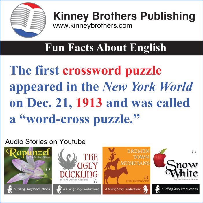 Fun Facts About English 55 Kinney Brothers Publishing