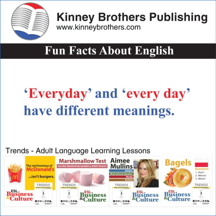 Kinney Brothers Publishing Every Day