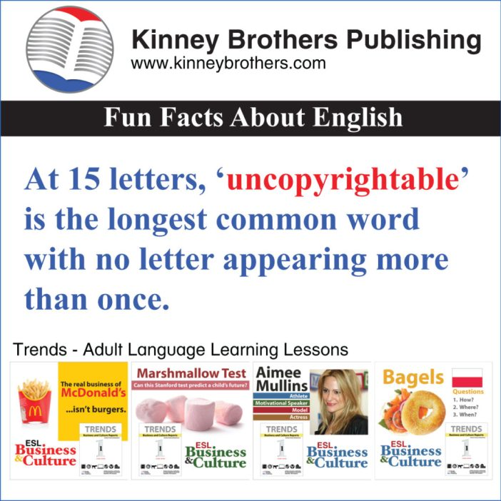 Kinney Brothers Publishing uncopyrightable