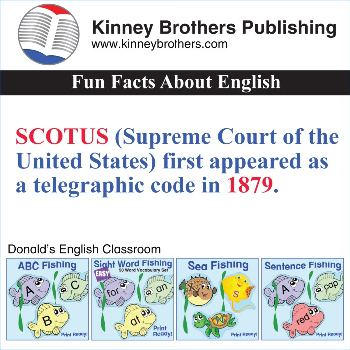 Kinney Brothers Publishing SCOTUS
