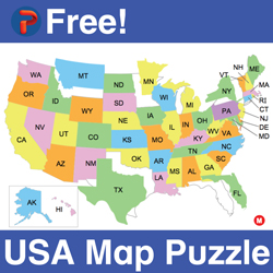 free map puzzle