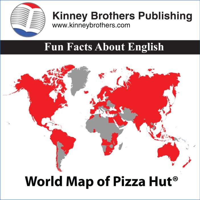 Kinney Brothers Publishing pizza Fun Facts About English
