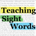 Teaching Sight Words Kinney Brothers Publishing