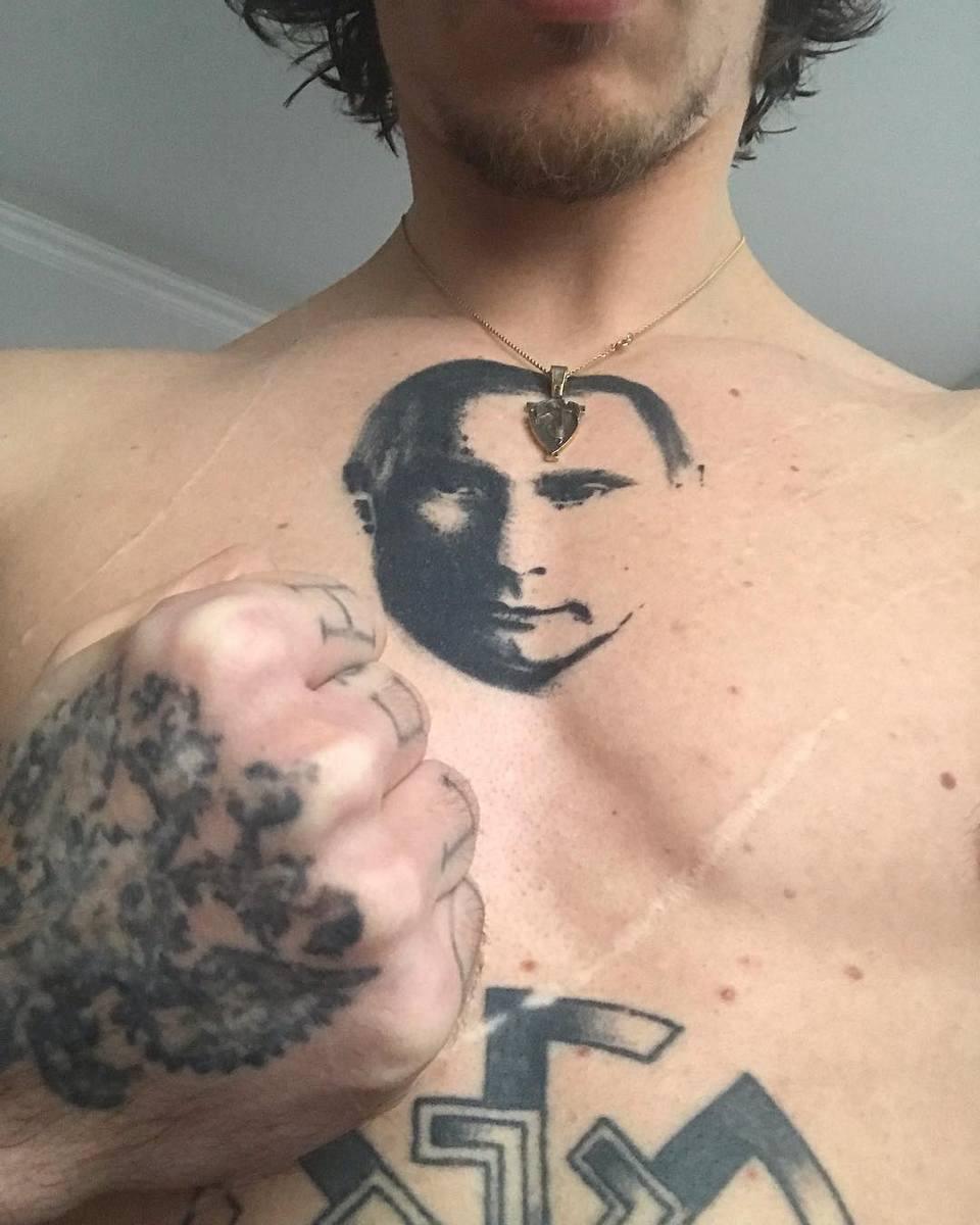 сергей полунин набил портрет путина на груди и получил российское