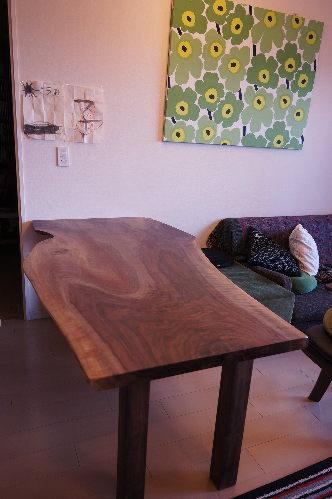 クラロウォルナットダイニングテーブル