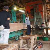 丸太の製材
