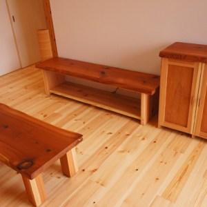 天然木無垢家具