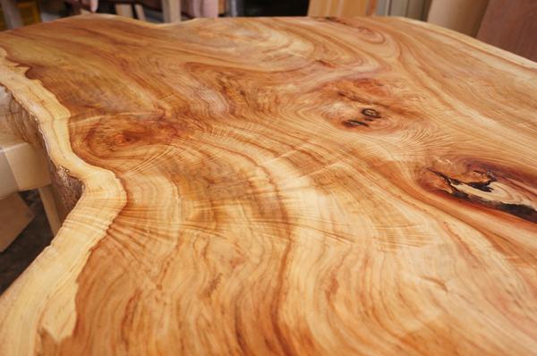 天然木一枚板木目