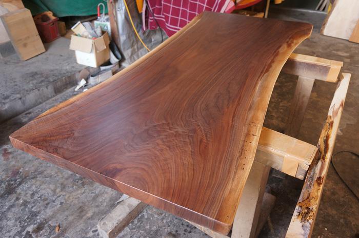 ブラックウォルナットテーブル板