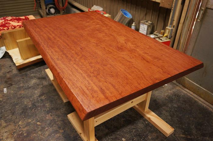 昔の座卓の作り直し