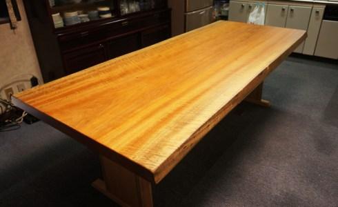 椨一枚板テーブル