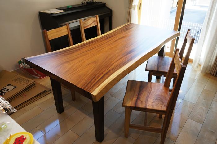 モンキーポットテーブル