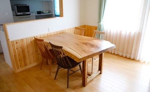 クスノキ一枚板テーブル