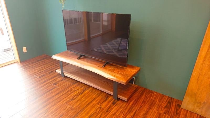BW一枚板テレビ台