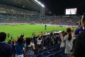 サッカー日本代表vsオマーン戦