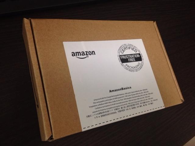 Amazonオリジナルの充電式電池