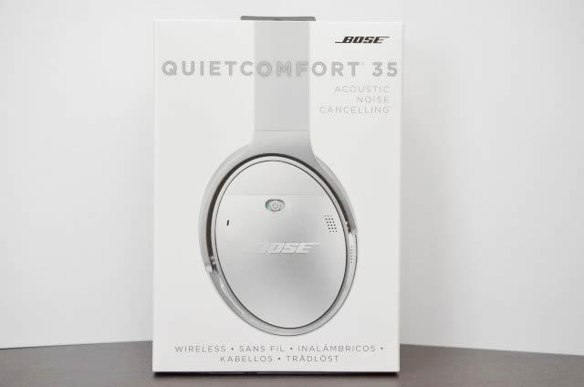 Bose quietcomfort35のパッケージ
