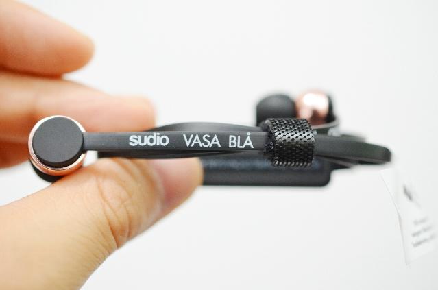 SudioのワイヤレスイヤホンVASA BLA