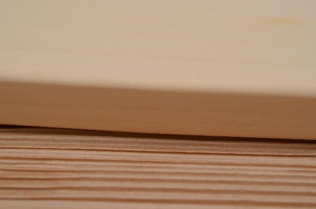 いちょうの木のまな板の厚み