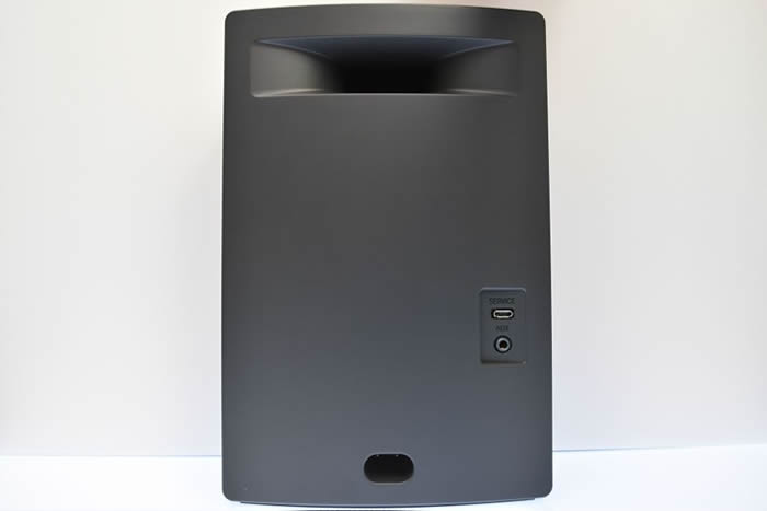 Bose soundtouch10のボディを後ろから撮影