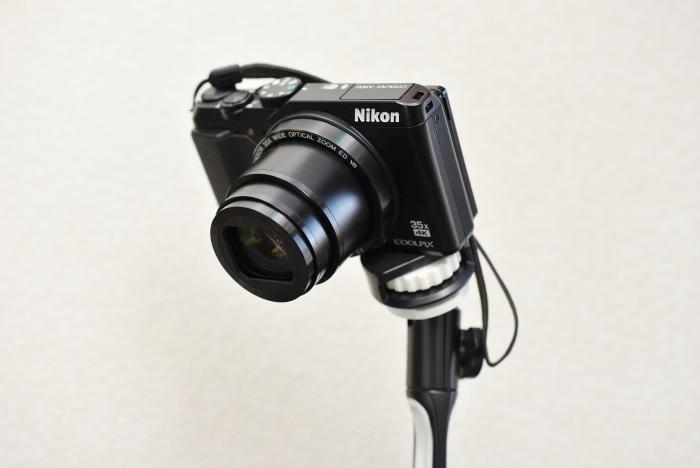 A900カメラを取り付けた様子