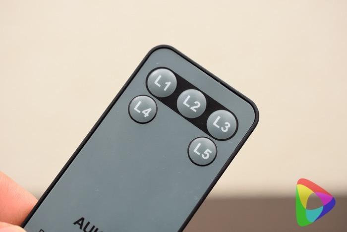 AUKEY HDMI切替器のリモコン