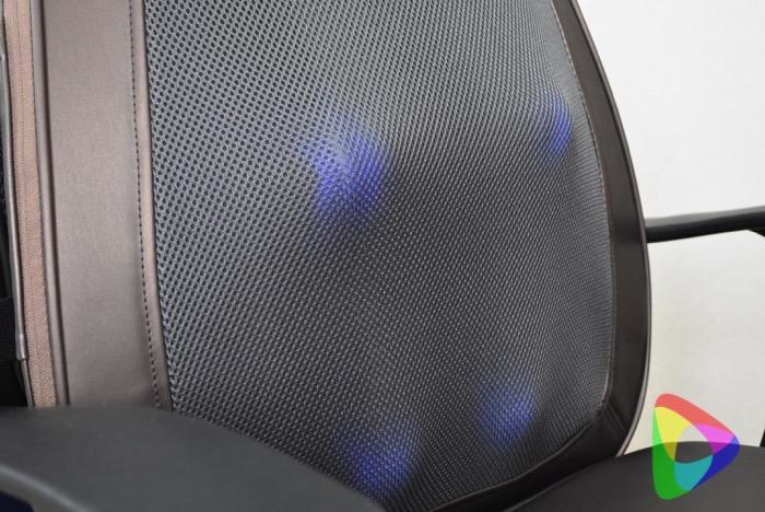 ドクターエアの3Dマッサージシートプレミアムの揉み玉