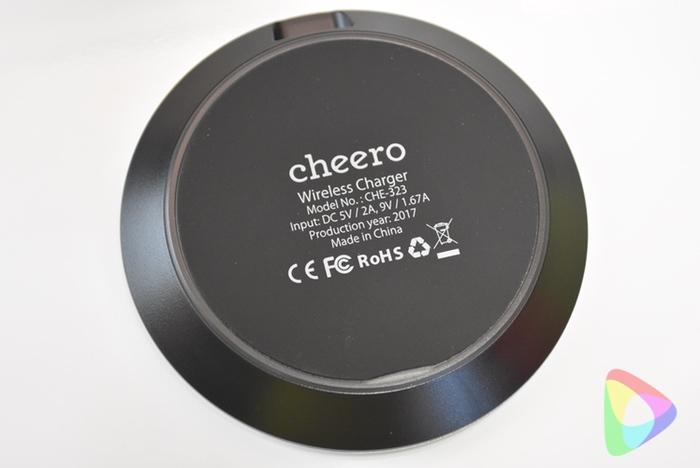 cheeroのQi対応「CHE-323」
